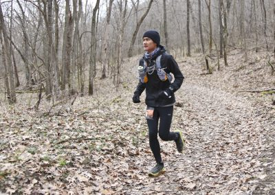 17 Year Old 100 Mile Finisher Kevin Chem - Photo Credit Eric Hadtrath