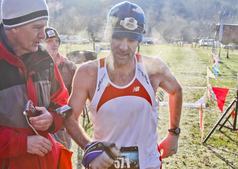 2016 50 Mile Winner Kurt Keiser - Photo Credit Eric Hadtrath
