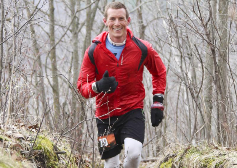 2016 Zumbro 100 Mile Winner Paul Shol - Photo Credit Eric Hadtrath