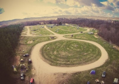 Alien Landscape Zumbro Start - Finish Area - Photo Credit Zach Pierce