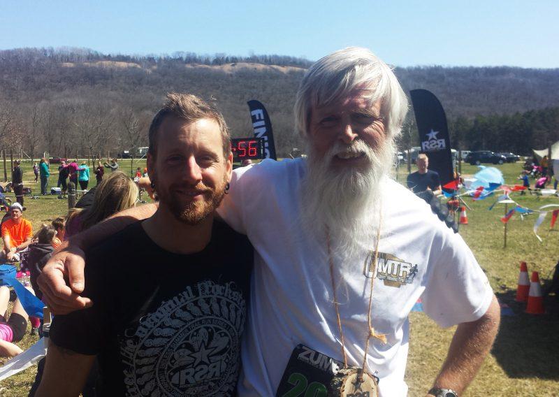 Current RD John Storkamp with Race Founder Larry Pederson - Photo Credit Erik Lindstrom