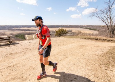 Dan Harke 100 Miler and Volunteer - Photo Credit Todd Rowe