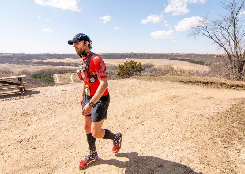 Dan Harke 100 Miler and Volunteer - Photo Credit Todd Rowe