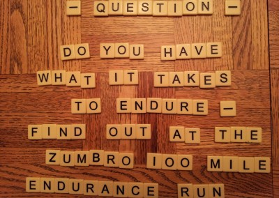 Do You Have What it Takes to Endure - Photo Credit John Storkamp