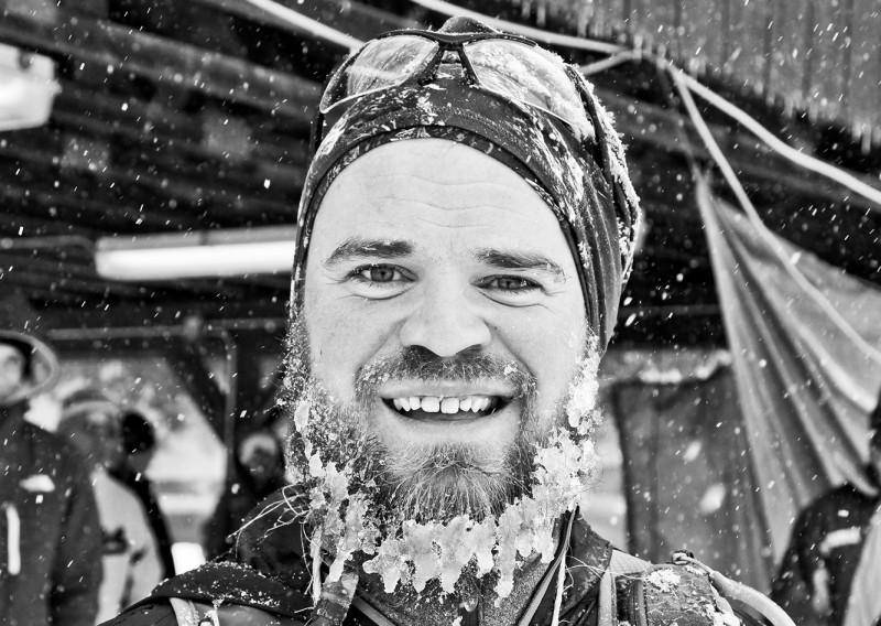 Ice Beards in April - Photo Credit Eric Hadtrath