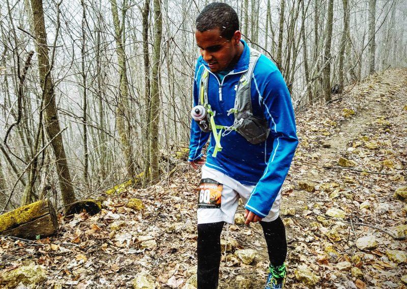 Jordan Schmidt Working the Hill - Photo Credit John Storkamp