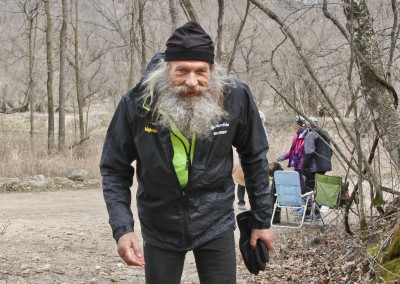 Last Leg for the Oldest 100 Mile Finisher Steve Sjolund 65 Years Young - Photo Credit Eric Hadtrath