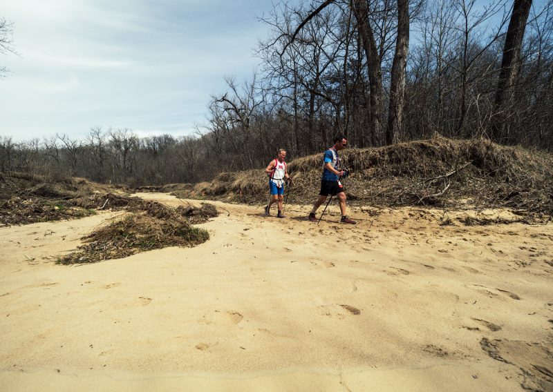 Mark and Steve and Sand - Photo Credit Zach Pierce
