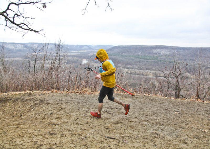 Rob Henderson on The Ridge 2018 - Photo Credit Eric Hadtrath