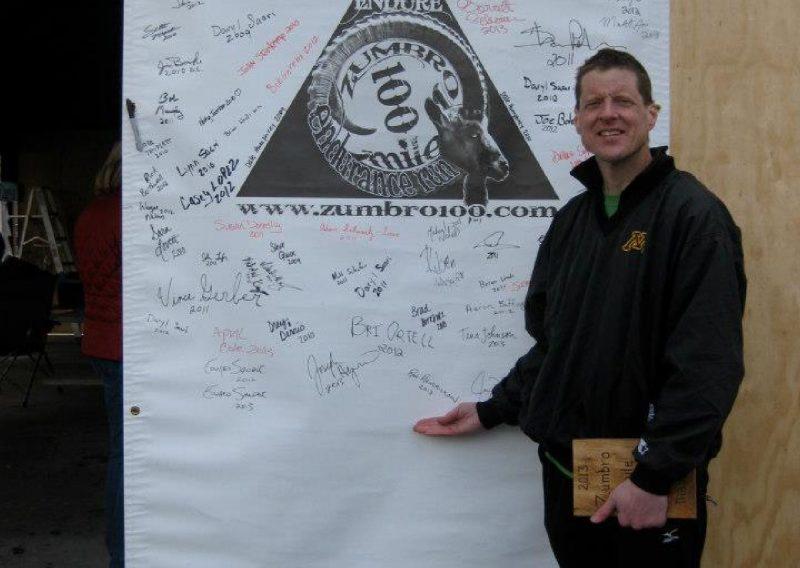 Ron Hendrickson Zumbro 100 Wall of Fame - Lisa Messerer