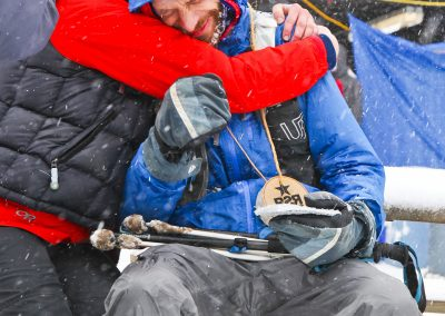 Scott Coles Overcome with Emotion - Photo Credit Eric Hadtrath