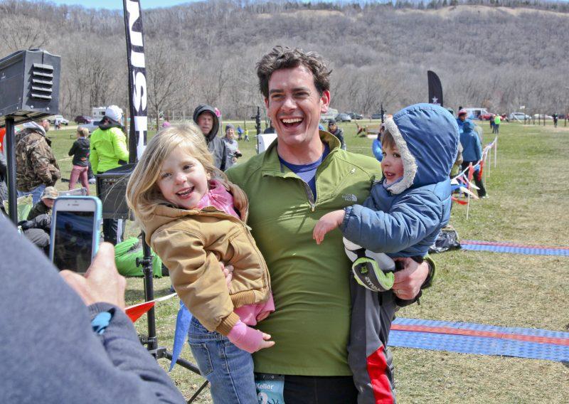 Sharing the Accomplishment 50 Miler Nicholas Keller - Photo Credit Eric Hadtrath