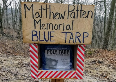 The Lore of the Blue Tarp - Photo Credit John Storkamp