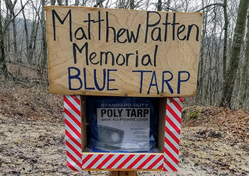 The Lore of the Blue Tarp - Photo Credit John Storkamp