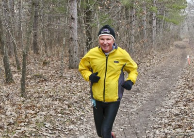 Trail Vet Tom Weigt Looking Fast - Photo Credit Eric Hadtrath
