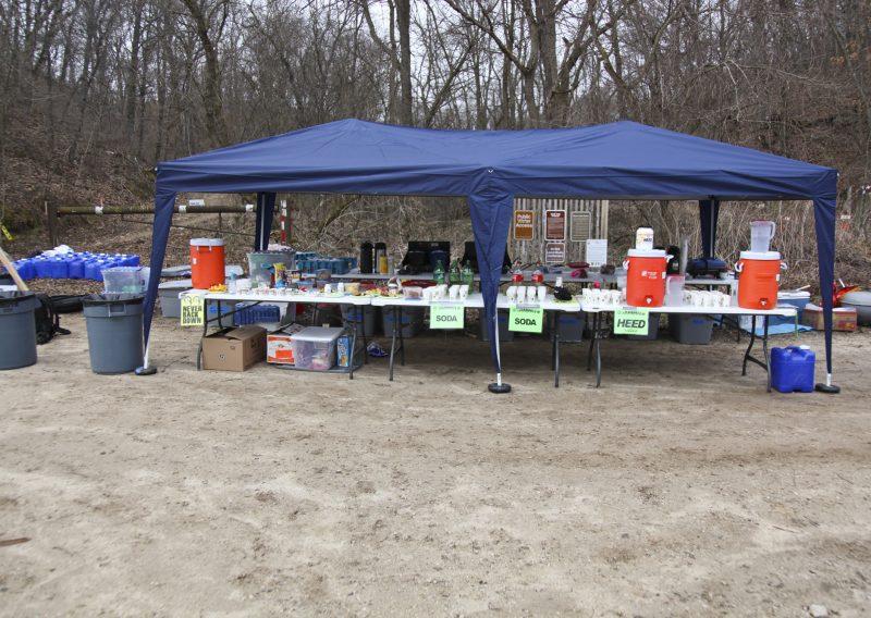 Zumbro Aid Station - Photo Credit Eric Hadtrath