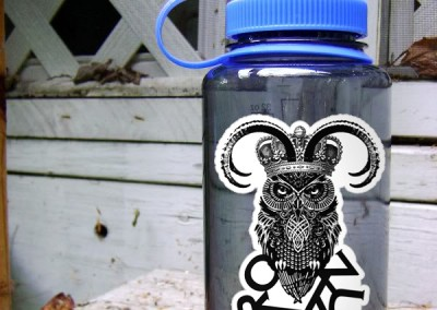 Zumbro Die Cut Sticker Nalgene 600PX Wide